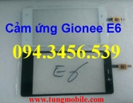 Cảm ứng Gionee E6, touch gionee elife e6, mặt kính cảm ứng Gionee Elife E6, up rom Gionee E6
