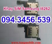 Khay sim Samsung I8262, chân sim Samsung I8262, bo sim samsung i8262, bo mạch sim samsung i8262