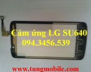Cảm ứng LG SU640, touch lg su640, mặt kính cảm ứng lg su640, thay màn hình cảm ứng lg su640, up rom