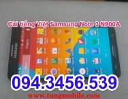 Up rom tiếng Việt Samsung Note 3 N900A, rom tiếng Việt Samsung Note 3 N900a, firmware tiếng Việt