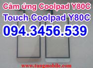 Cảm ứng CoolPad Y80c, cảm ứng Y80c, touch Coolpad Y80, touch Y80, thay mặt kính cảm ứng COOLPAD Y80