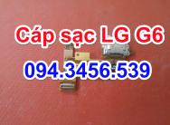 Thay cáp sạc LG G6, thay chân sạc lg g6, thay cổng sạc lg g6, thay cổng usb lg g6, sửa lg g6