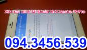 Xóa xác minh tài khoản HTC 10 Pro, bypass HTC 10 pro, up rom HTC 10 pro, xóa xác minh tài khoản HTC