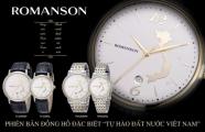 Đồng hồ Romanson cho ra đời phiên bản đặc biệt
