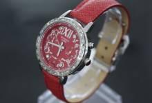 Đồng hồ nữ dây da màu đỏ cho cô nàng mệnh Hỏa và Thổ cả năm  rực rỡ