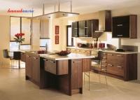 Tủ bếp gỗ Óc Chó BTN007