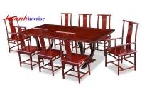Bàn ghế ăn giả cổ đời Minh BGC009