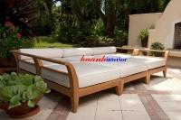 Sofa gỗ ngoài trời SF001