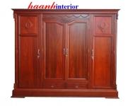 Tủ áo gỗ Gụ TAG010