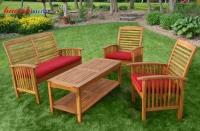 Bàn ghế gỗ NTG002