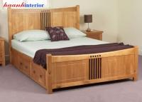 Giường ngủ gỗ GNH015