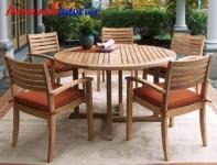 Bàn ghế gỗ NGT004