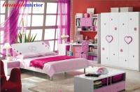 Phòng ngủ cho bé gái PTE005