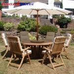 Bàn ghế gỗ sân vườn NGT006