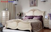 Giường ngủ tân cổ điển  GNC011