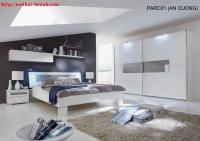 Phòng ngủ hiện đại BPN014 gỗ công nghiệp.