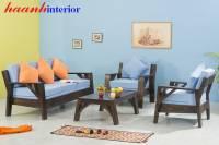 Sofa gỗ óc chó SFG016