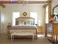 Giường tân cổ điển gỗ tự nhiên GNC018