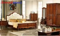 Giường tân cổ điển cao cấp GNC019
