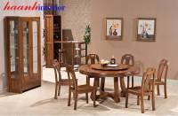 Bàn ghế ăn hiện đại gỗ tự nhiên BGA029