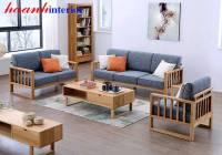 Sofa gỗ sồi tự nhiên SFG019