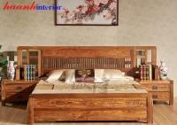 Giường đời minh gỗ hương GIC012