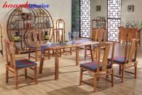 Bàn ghế ăn gỗ tự nhiên đời Minh BGC011
