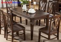 Bàn ghế ăn tự nhiên gỗ sồi sự lựa chọn tốt nhất BGA033