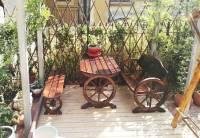 Bàn ghế sân vườn phong cách ấn tượng NTG009