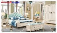 Giường tân cổ điển cao cấp GNC021