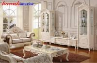 Tủ phòng khách tân cổ điển cao cấp TCD006