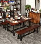 Nội thất nhà hàng đơn giản NAH006