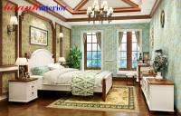 phòng ngủ Bộ Phong cách Địa Trung Hải BPN021