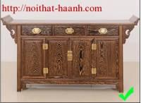 Tủ thờ gỗ tự nhiên đời Minh TTC014