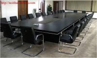 Bàn ghế phòng họp gỗ công nghiệp hiện đại PHH009
