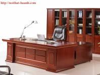 Đồ gỗ nội thất phòng lãnh đạo PGD010