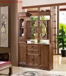 Tủ ngăn phòng gỗ tự nhiên giả cổ TPK009