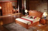 Phòng ngủ gỗ tự nhiên giả cổ BPC006