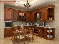 Bếp gỗ tự nhiên chất lượng BTN018