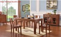 Bàn ghế ăn hiện đại BGA038
