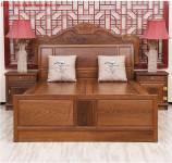 Giường gỗ tự nhiên sang trọng GIC016