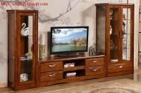 Tủ gỗ phòng khách gỗ tự nhiên TPK027