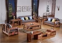 Bàn ghế phòng khách gỗ tự nhiên giả cổ cao cấp BGG 026
