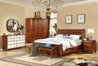 Bộ phòng ngủ tân cổ điển gỗ tự nhiên GNC 028
