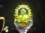 Nhẫn Nữ Đá Peridot - NN211