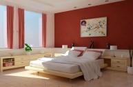 Trang trí cho phòng ngủ nhiều ánh sáng hơn