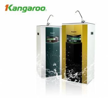 Máy lọc nước Kangaroo 7 lõi KG104  tủ kính cường lực