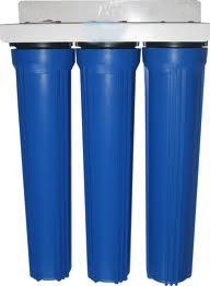 Côt lọc nước tổng sinh hoạt 3 cấp lọc PP 20''