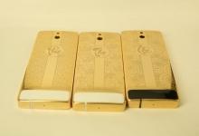 Bộ sưu tập Nokia 515 mạ vàng chạm khắc chữ
