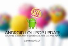 Cập nhật Android 5.x cho các dòng Galaxy (tháng 7/2015) - Android 5.1.1 FIX RAM Galaxy S6/S6 Edge